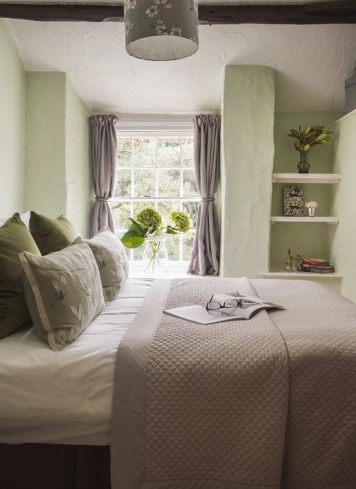 3rd bedroom, in fresh mint green